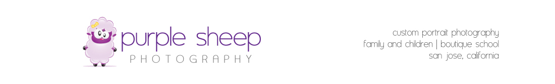 Purple Sheep Photography | Children's Photographer Czarina Nocon Serving San Jose California | Santa Clara County logo